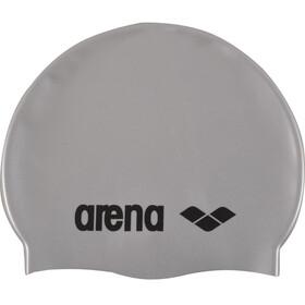 arena Classic Silicone badmuts grijs/zilver